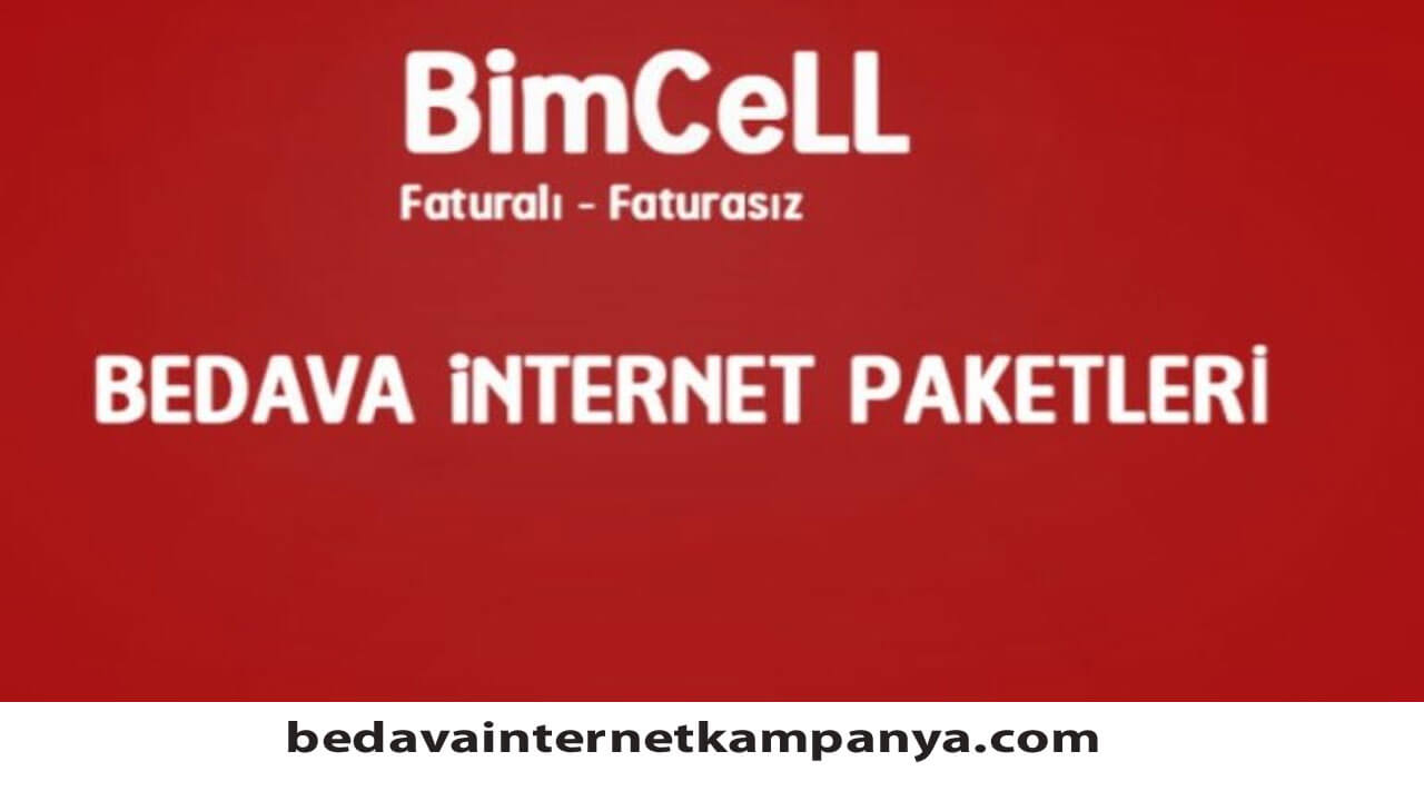 Haziran 2020 BİMcell Bedava İnternet Paketleri