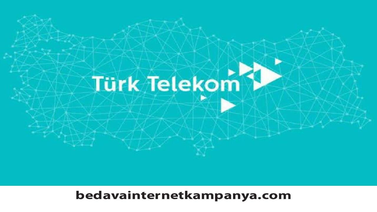 Haziran 2020 Türk Telekom Bedava İnternet Paketleri