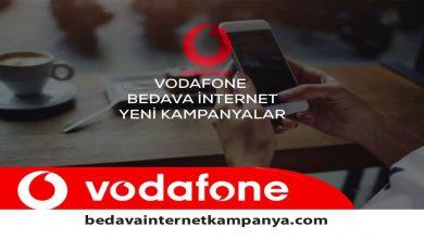 Photo of Temmuz 2020 Vodafone Bedava İnternet Paketleri