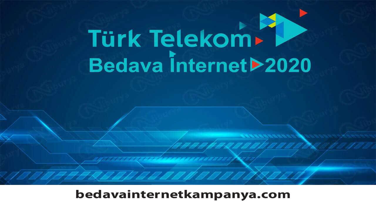 Temmuz2020 Türk Telekom Bedava İnternet Paketleri