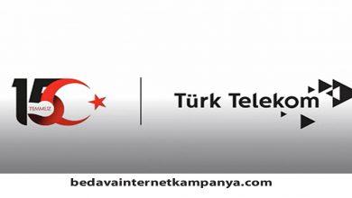 Photo of Türk Telekom 15 Temmuz Hediyesi 2020