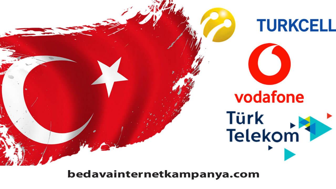 Türk Telekom, Turkcell, Vodafone 15 Temmuz Hediyesi 2020