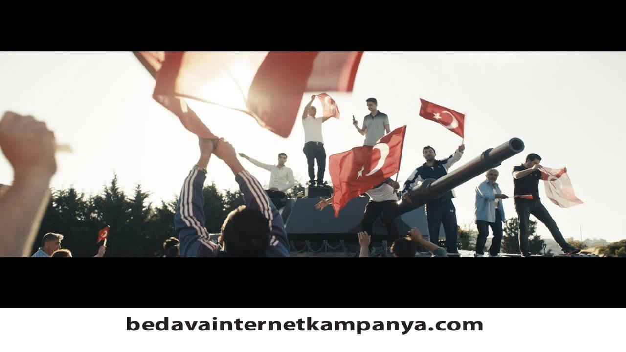 Türk Telekom 15 Temmuz Hediyesi 2020
