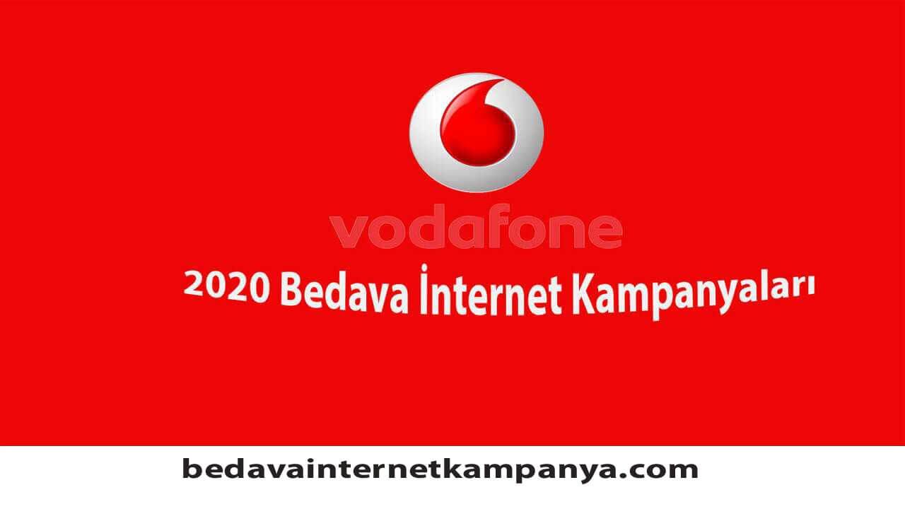 Vodafone Bedava İnternet Nasıl Yapılır 2020