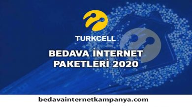 Photo of Turkcell Bedava İnternet 2020