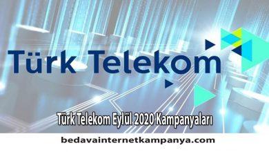 Photo of Eylül 2020 Türk Telekom Bedava İnternet Kampanyaları