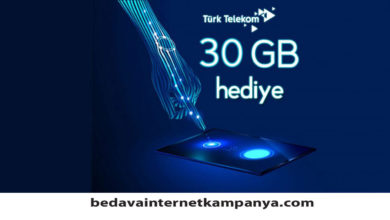 Photo of Türk Telekom 4.5G 30 GB Bedava İnternet Kampanyası