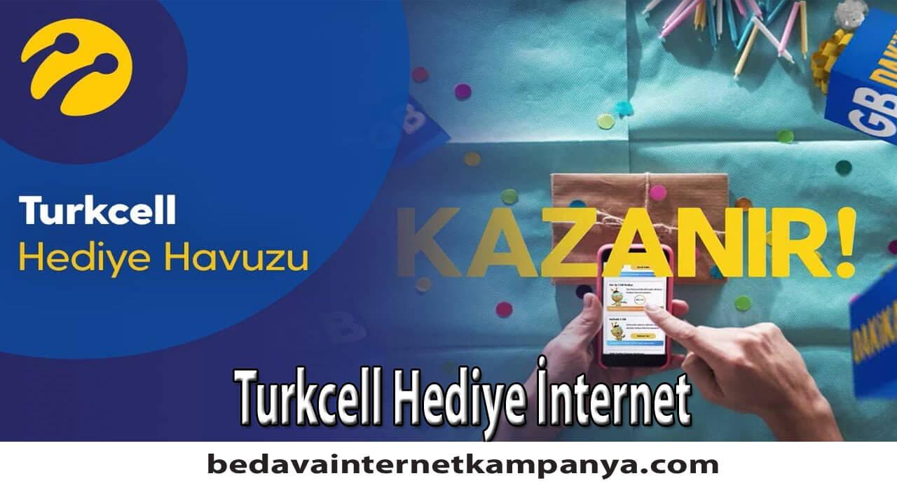 Turkcell Hediye İnternet 2020