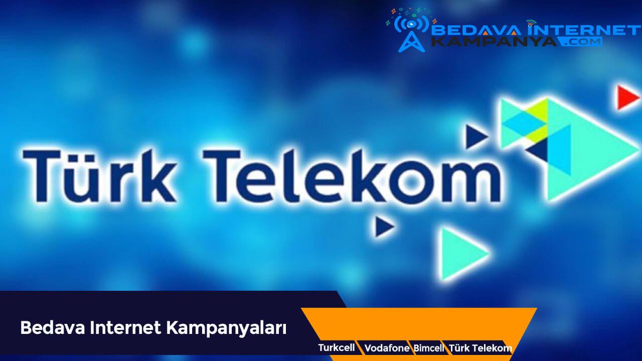 Eylül 2020 Türk Telekom Bedava İnternet Kampanyaları