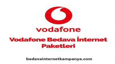 Photo of Eylül 2020 Vodafone Bedava İnternet Kampanyaları