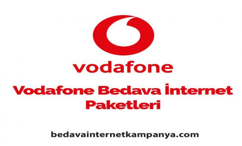 Eylül 2020 Vodafone Bedava İnternet Kampanyaları