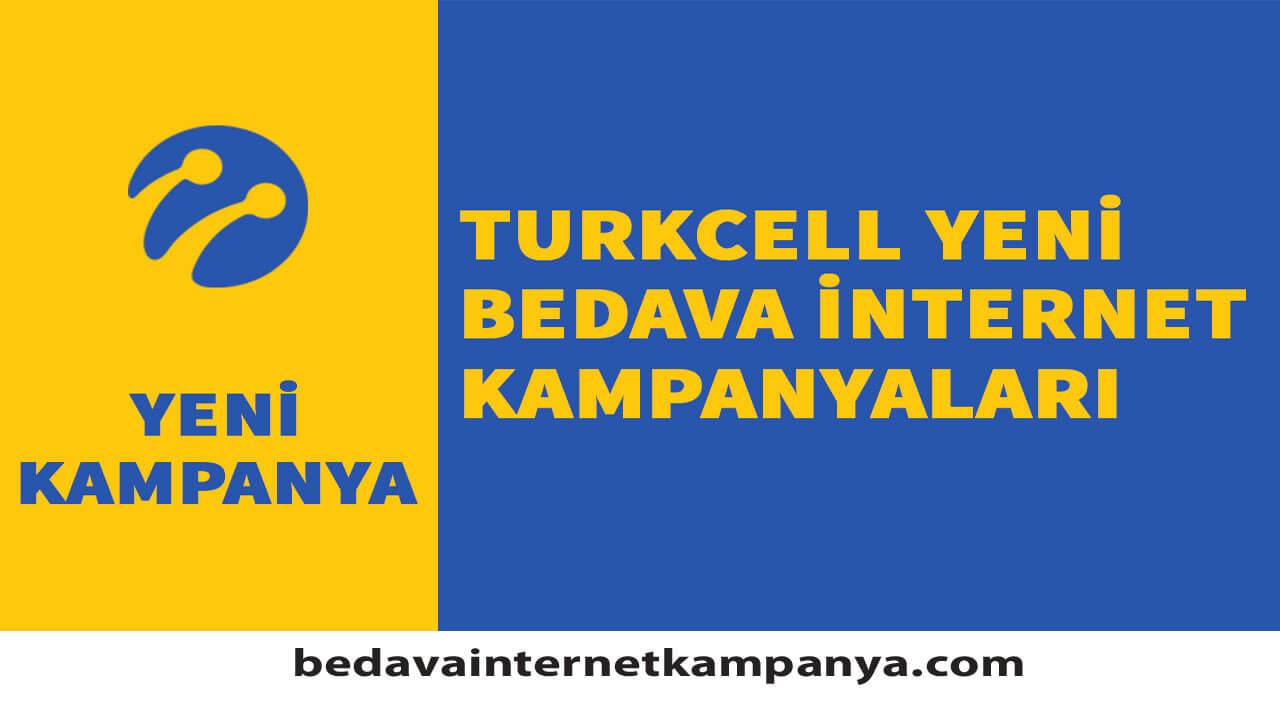 Eylül 2020 Turkcell Bedava İnternet Kampanyaları