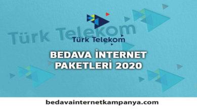 Photo of Ekim 2020 Türk Telekom Bedava İnternet Kampanyaları