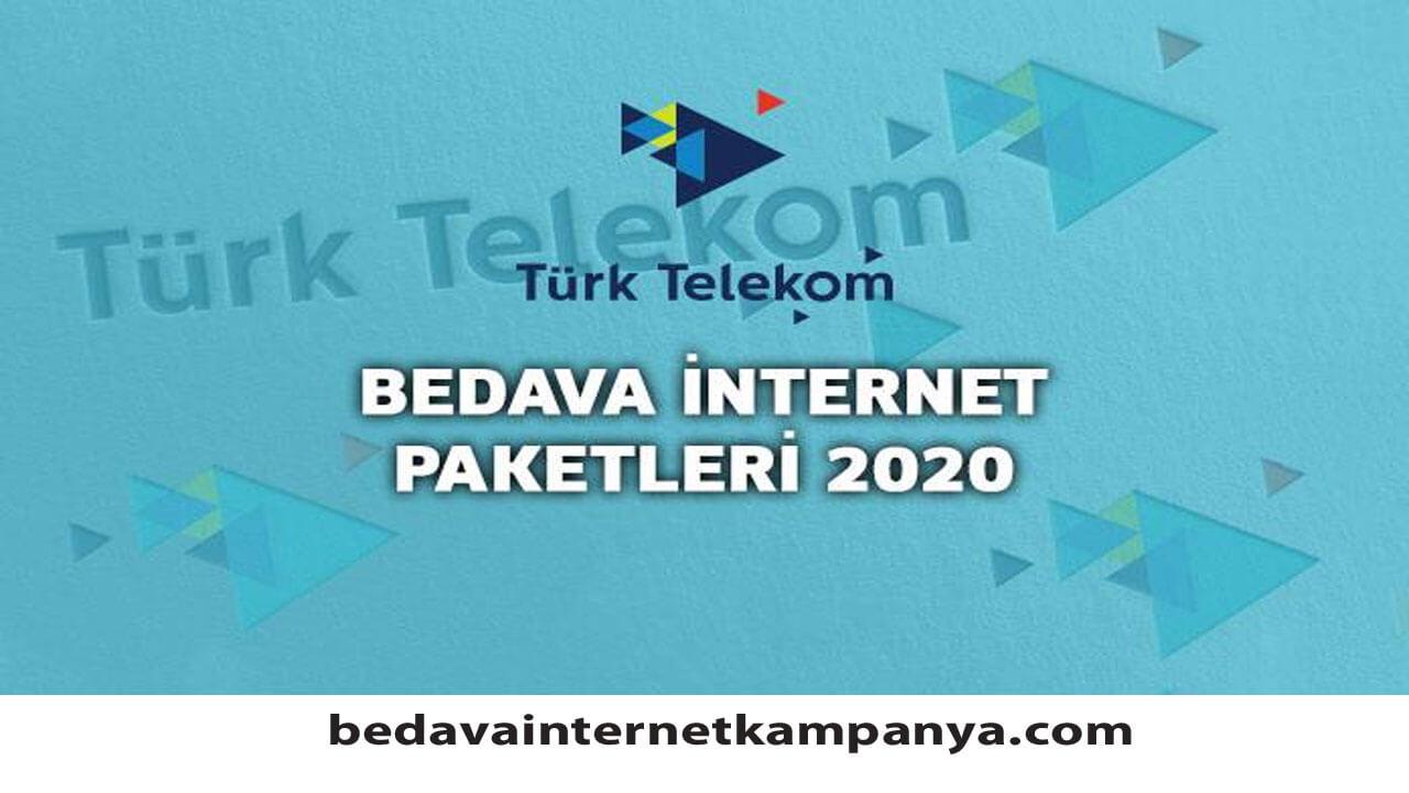 Ekim 2020 Türk Telekom Bedava İnternet Kampanyaları