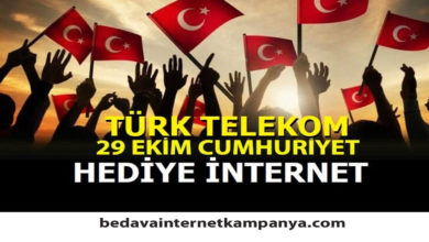 Photo of 29 Ekim Türk Telekom Hediyesi