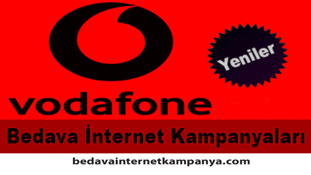 Ekim 2020 Vodafone Bedava İnternet Kampanyaları