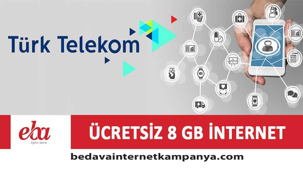 Türk Telekom EBA Bedava İnternet