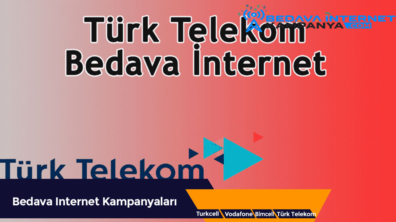 Türk Telekom Bedava İnternet Veren Uygulamalar 2020