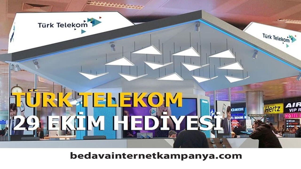 29 Ekim Türk Telekom Hediyesi