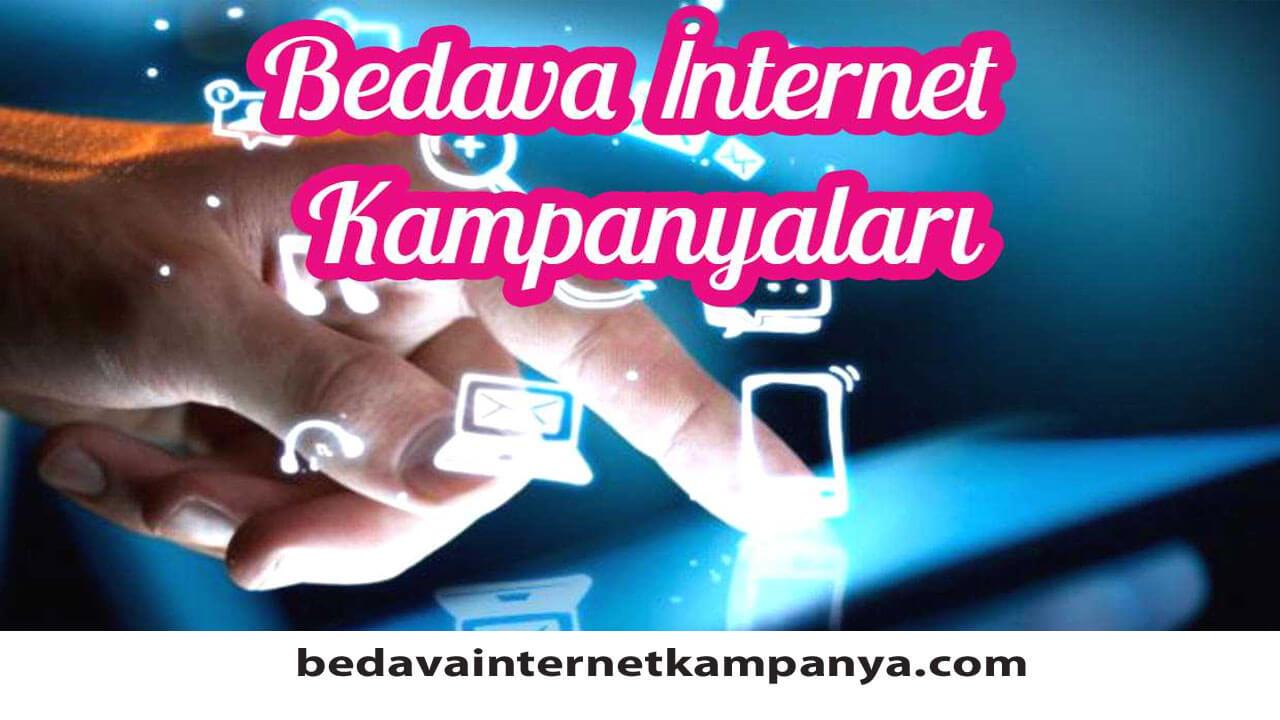 Operatörlerin Ekim 2020 Bedava İnternet Kampanyaları