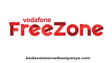 Vodafone Freezone Tarifeleri 2020