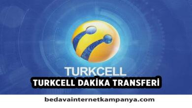 Turkcell Dakika Transferi Nasıl Yapılır?