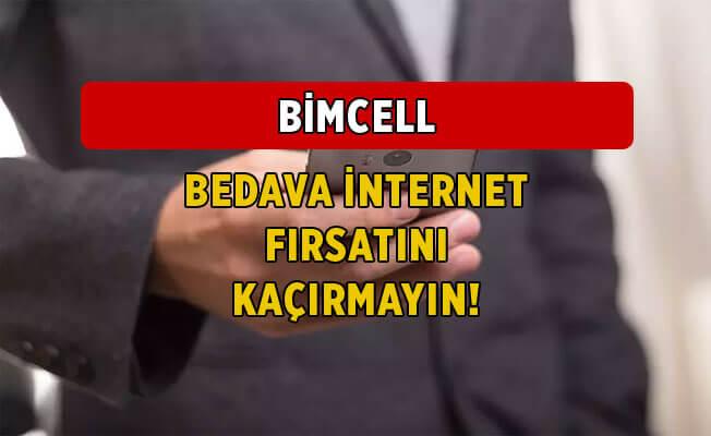 Kasım 2020 BİMcell Bedava İnternet Kampanyaları
