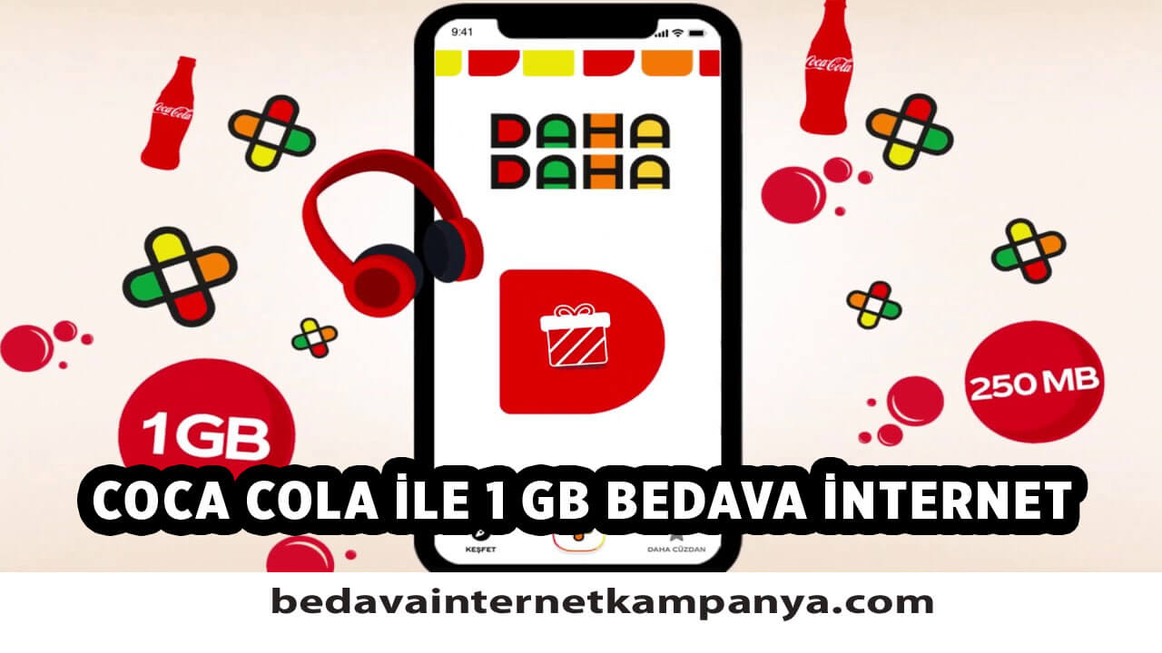 Coca-Cola Daha Daha Bedava İnternet