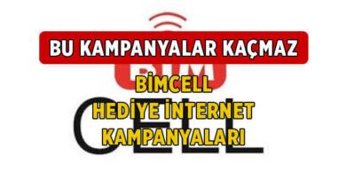 Aralık 2020 BİMcell Bedava İnternet Kampanyaları