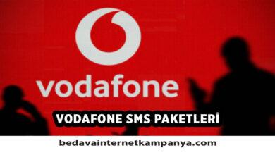 Vodafone SMS Paketleri 2021