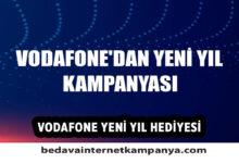 Vodafone 2021 Yılbaşı Hediyesi Bedava İnternet