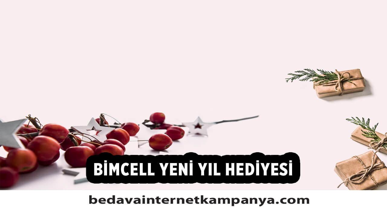 BİMcell 2021 Yılbaşı Hediyesi Bedava İnternet