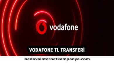 Vodafone TL Transfer Nasıl Yapılır?