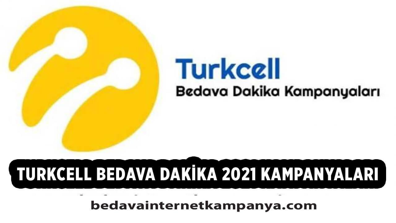 Turkcell Bedava Dakika 2021