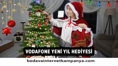 Vodafone Yeni Yıl Hediyesi
