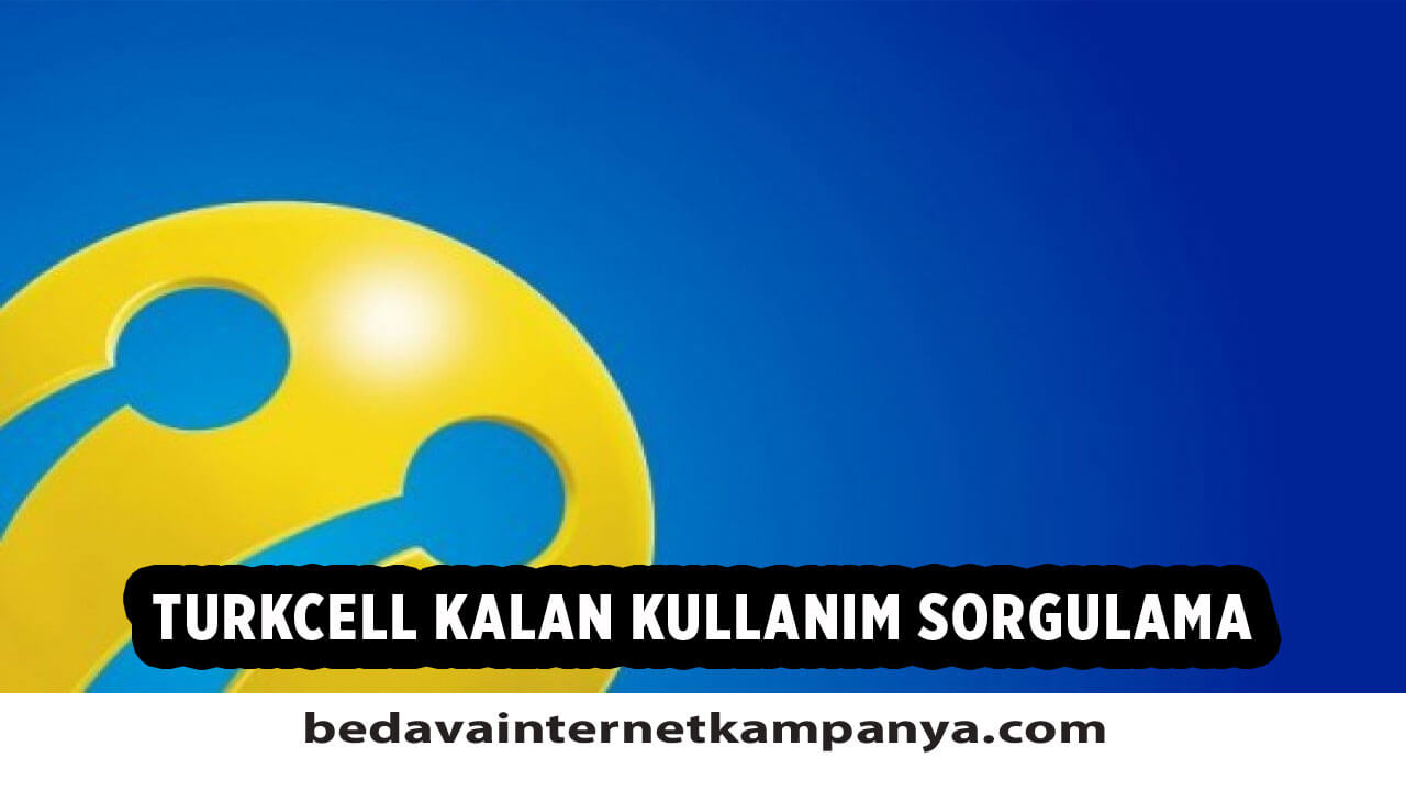 Turkcell Kalan Kullanım Öğrenme
