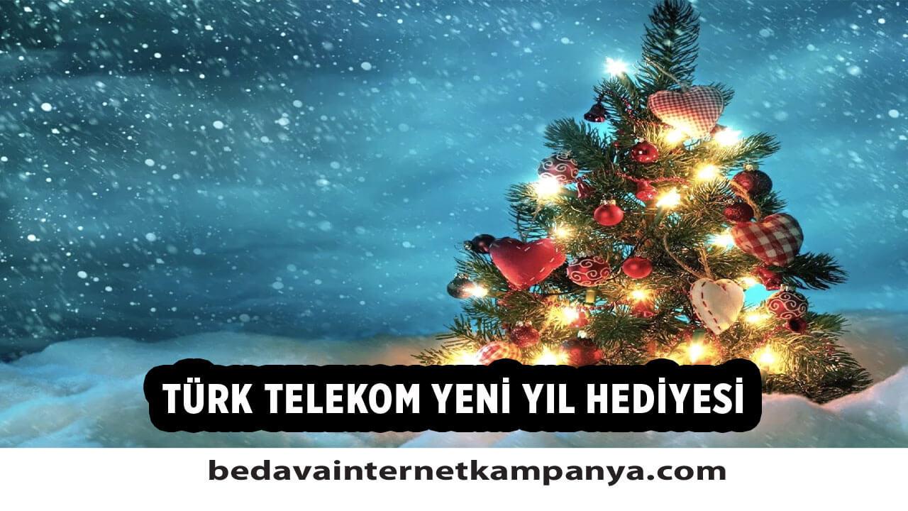 Türk Telekom Yeni Yıl Hediyesi