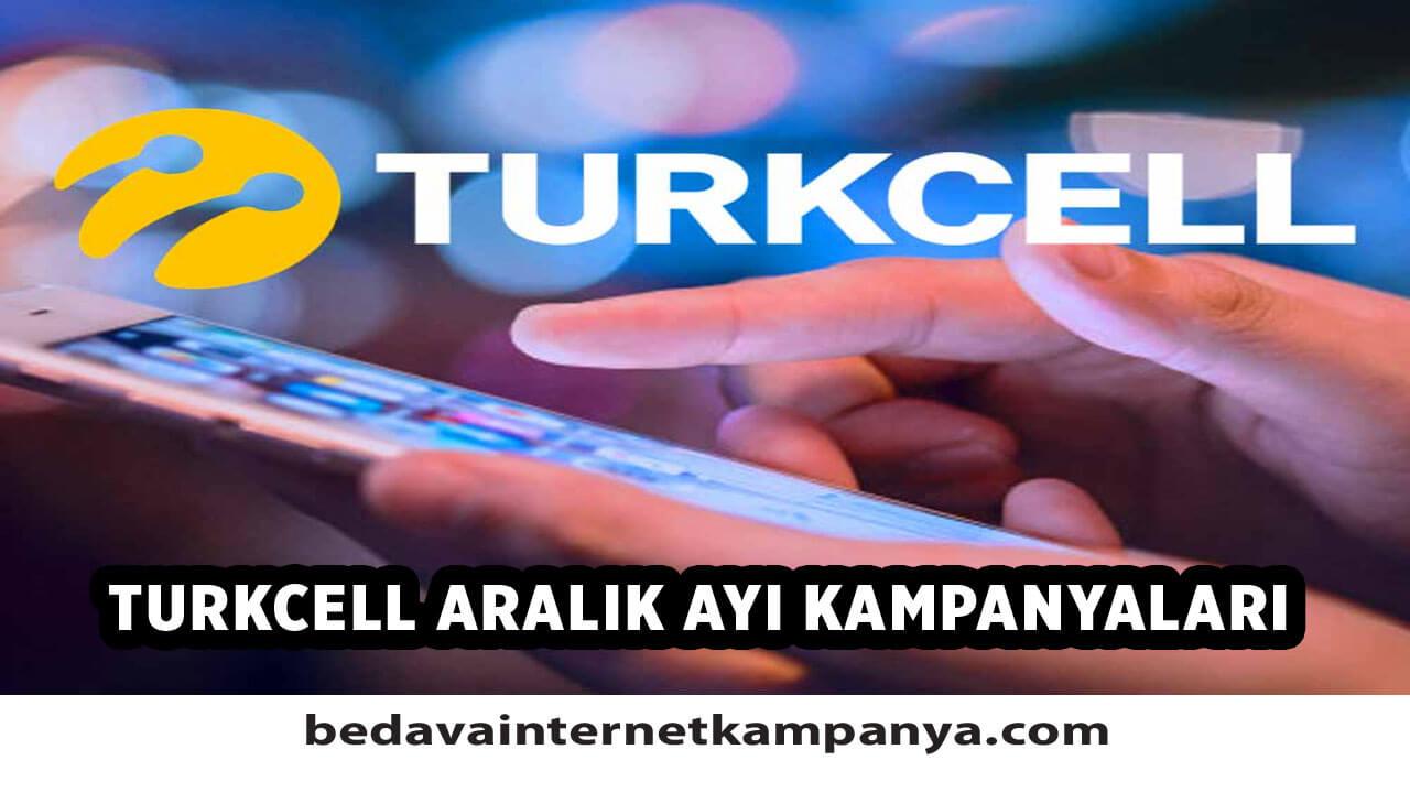 Aralık 2020 Turkcell Bedava İnternet Kampanyaları