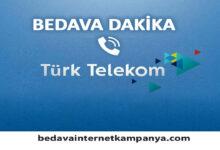 Türk Telekom Bedava Dakika 2021