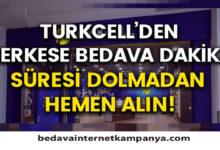 Turkcell Bedava Dakika Veren Uygulamalar 2021